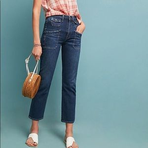 COH Kamila High Rise Patch Pocket Flare Jeans 28
